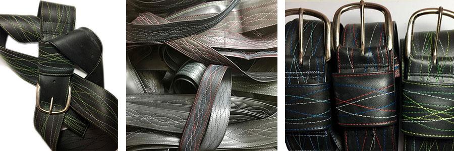 recycled inner tube belt