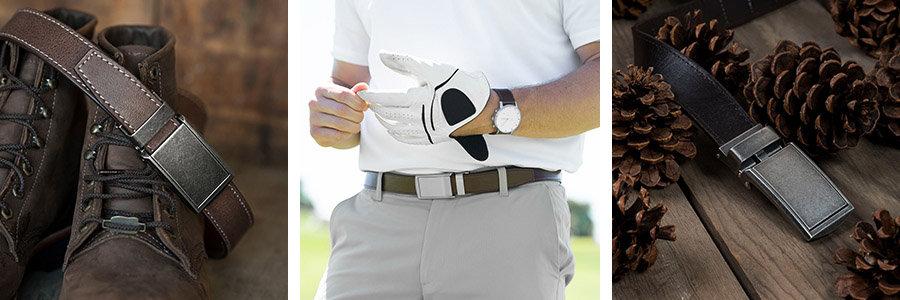 slidebelts classy vegan leather belt