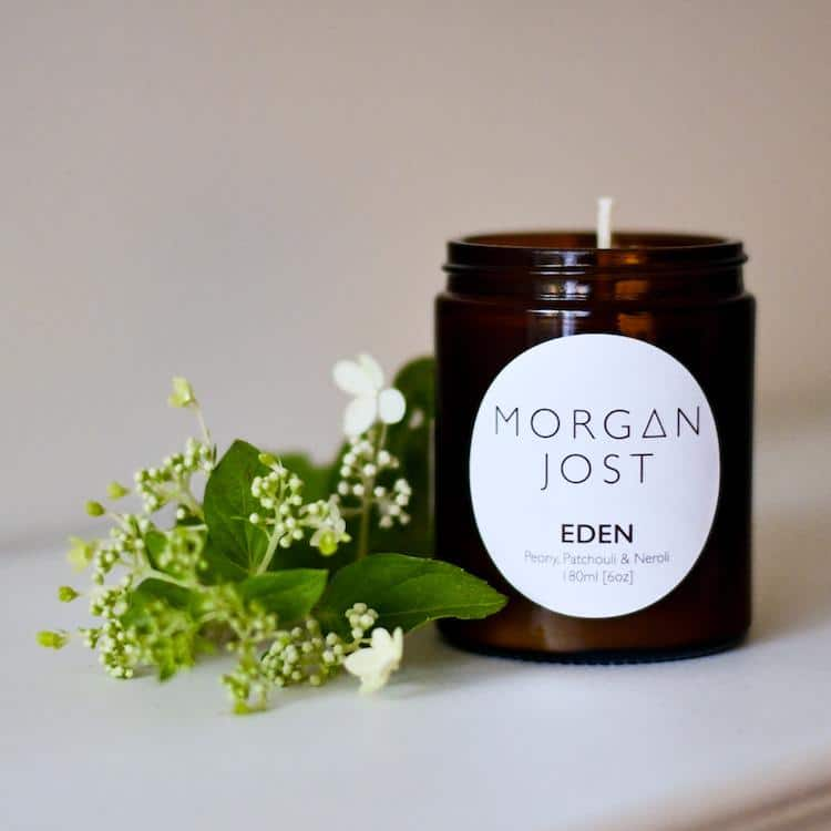 Morgan Jost Soy wax candle