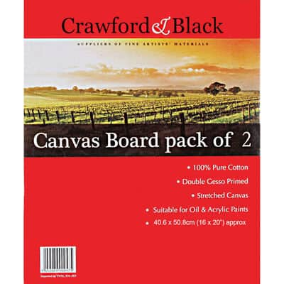 Crawford and Black Canvas