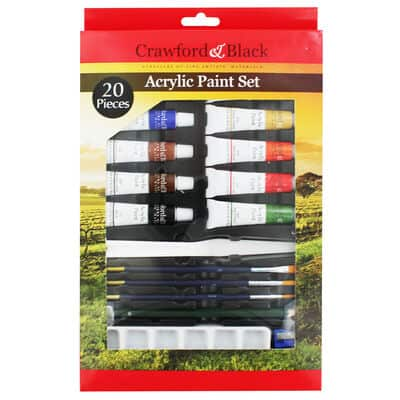 Crawford Black vega paint set