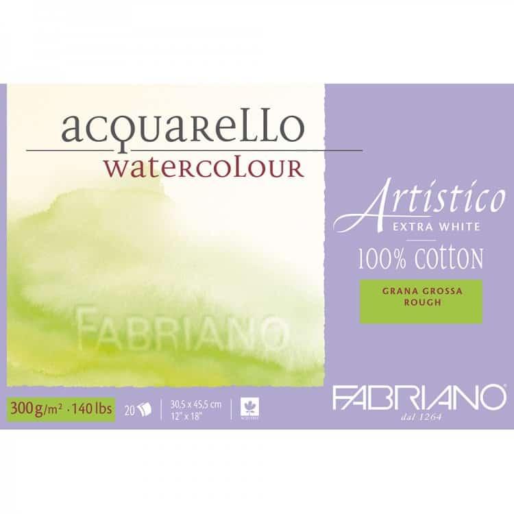 Fabriano Artistico White Watercolour Paper