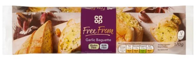garlic baguette vegan