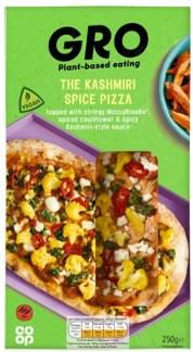 kashmiri vegan pizza