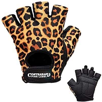 Contraband Fingerless Vegan Gloves for Women