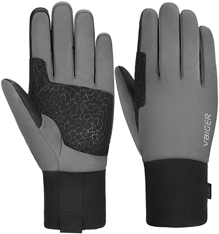 vbiger winter cycling gloves