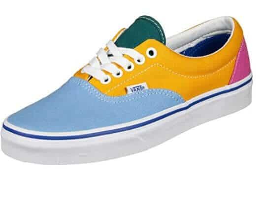 Vans vegan shoes Vans men's blue and yellow Butyans