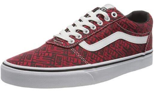 Vans vegan shoes Vans men's cool pattern Ward canvas sneaker