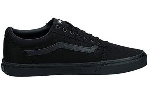 Vans vegan shoes Vans men's black Ward canvas sneaker