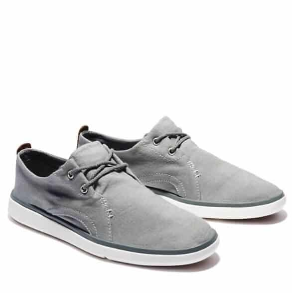 vegan timberlands gray gateway pier casual men's oxford shoes