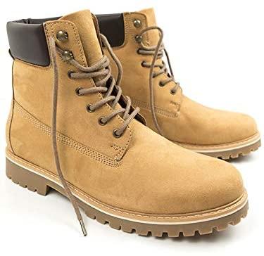 vegan timberlands will's vegan shoes men's dock boots in tan vegan suede