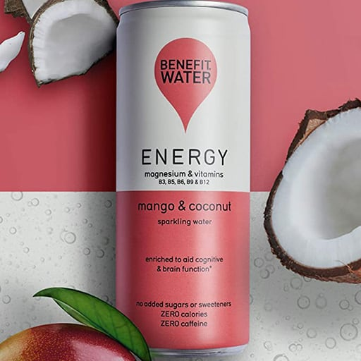 natural energy drink by benefit water