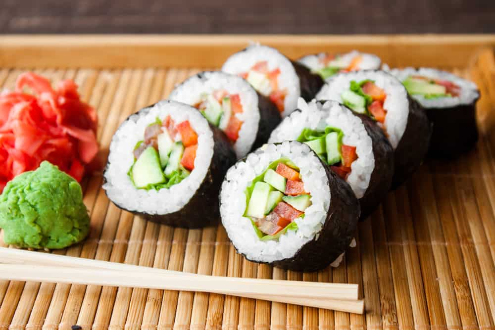 Yo Sushi Vegan Options