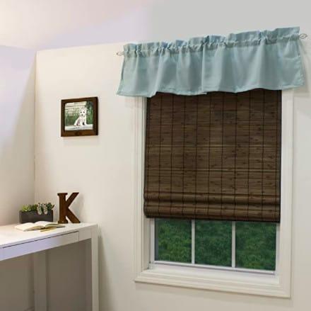 radiance cordless bamboo roman blinds