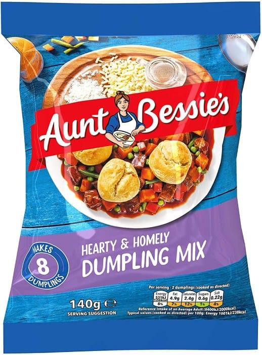 aunt bessie's dumplings